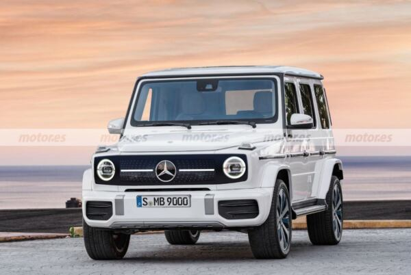 Mercedes EQG nuovo render
