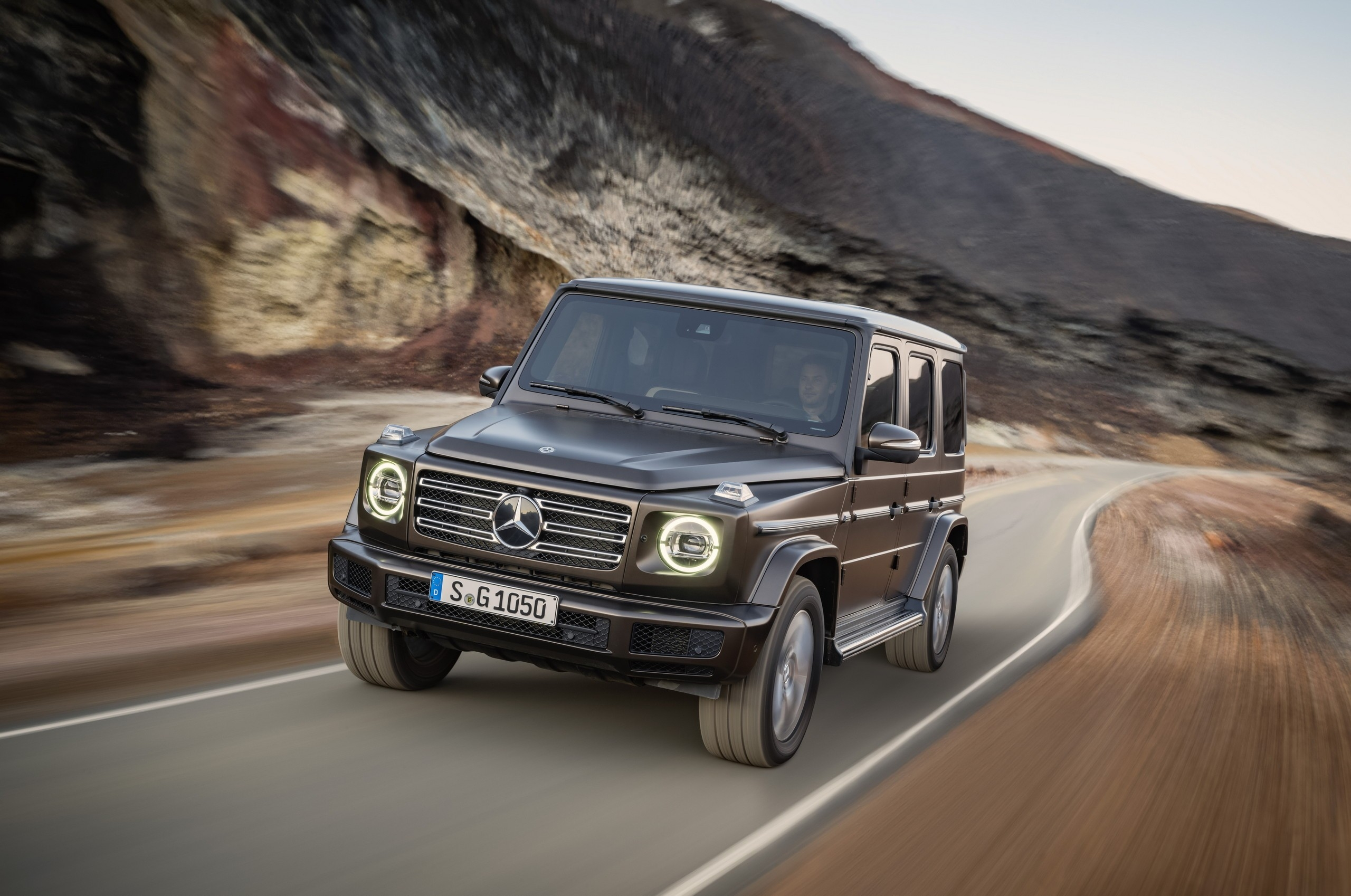 Mercedes G 550 richiamo Stati Uniti