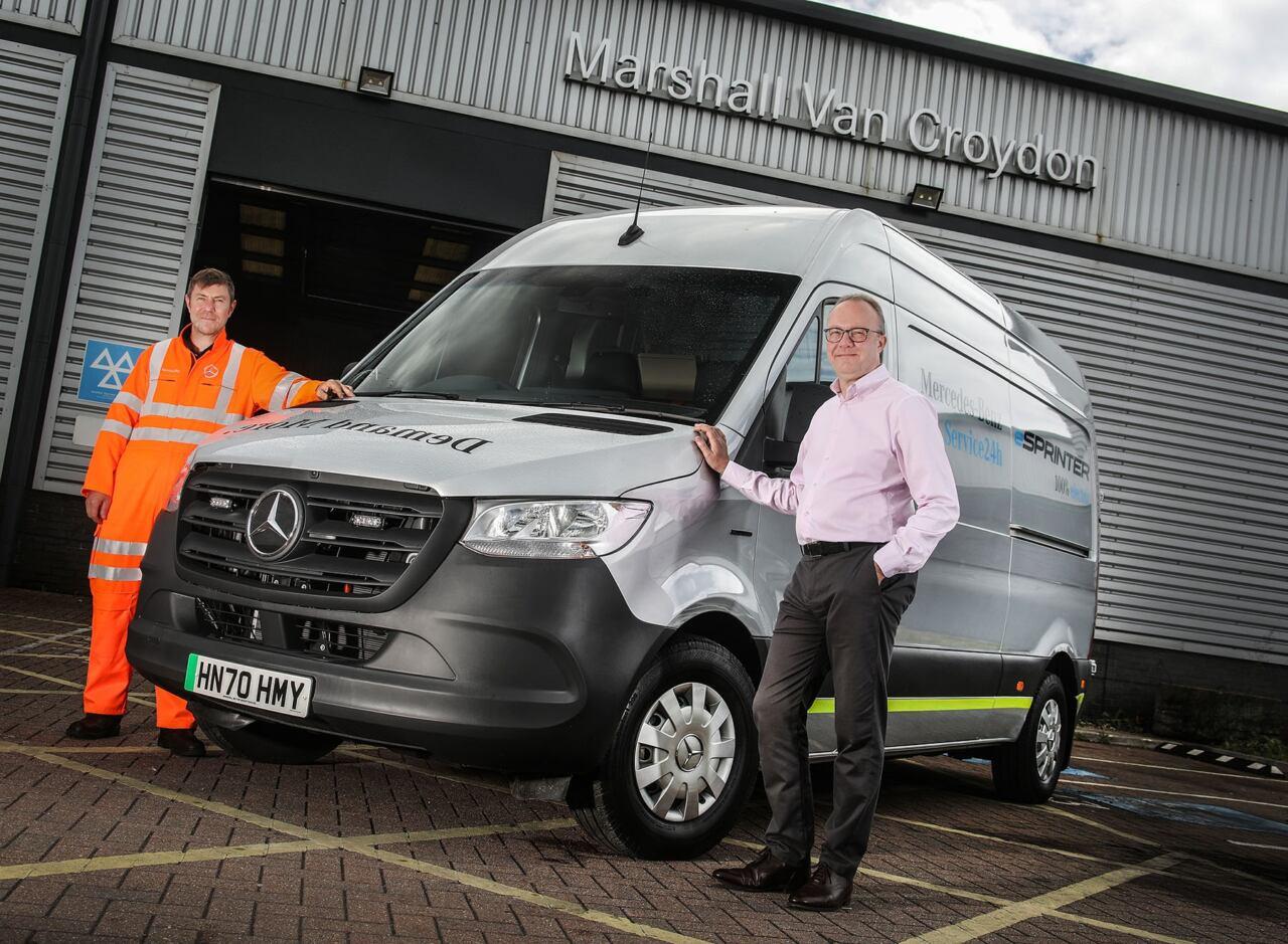 Mercedes servizio assistenza stradale eSprinter