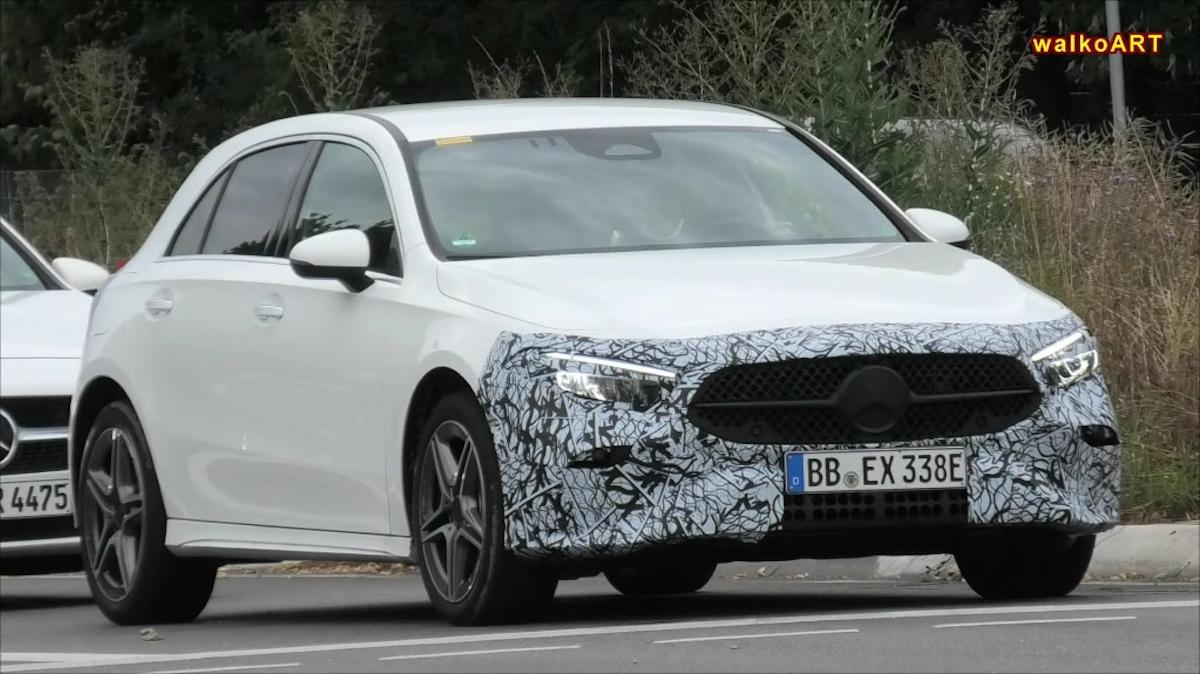 Nuova Mercedes Classe A foto spia