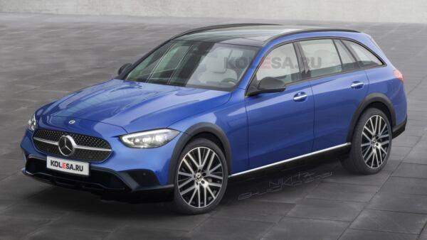 Nuova Mercedes Classe C All-Terrain render