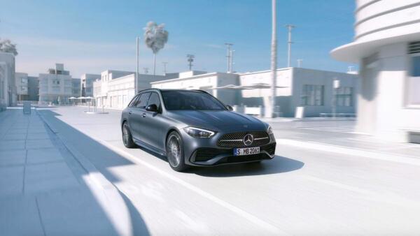 Nuova Mercedes Classe C Wagon noleggio