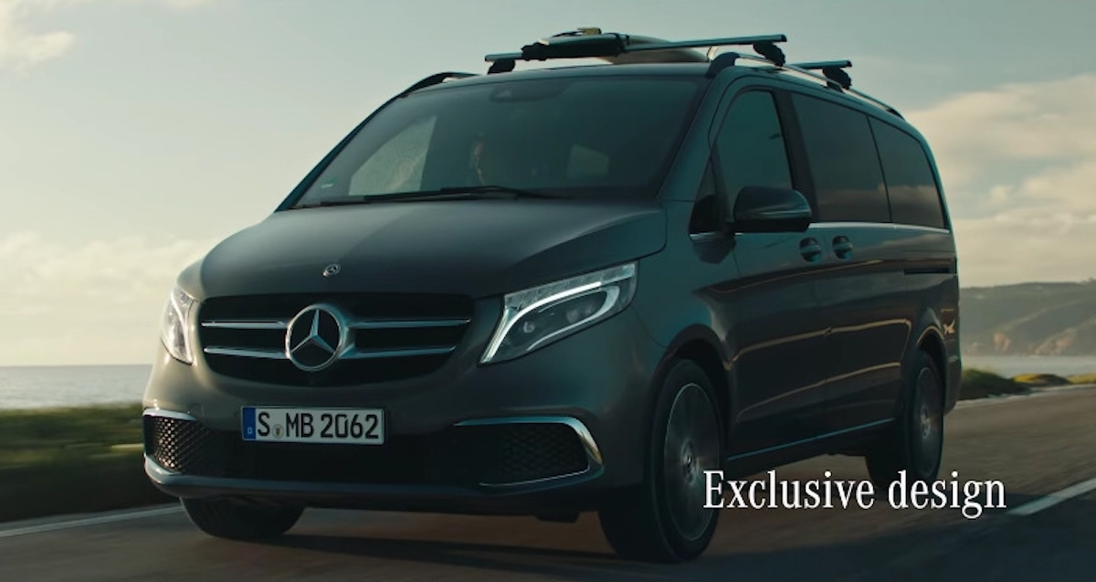 Nuova Mercedes Classe V feature
