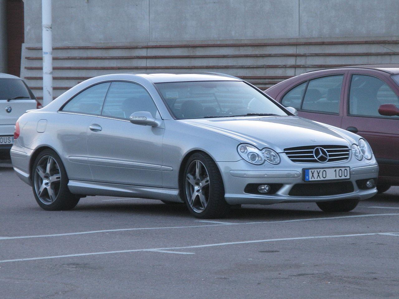 Mercedes-Benz CLK55 AMG (2002)