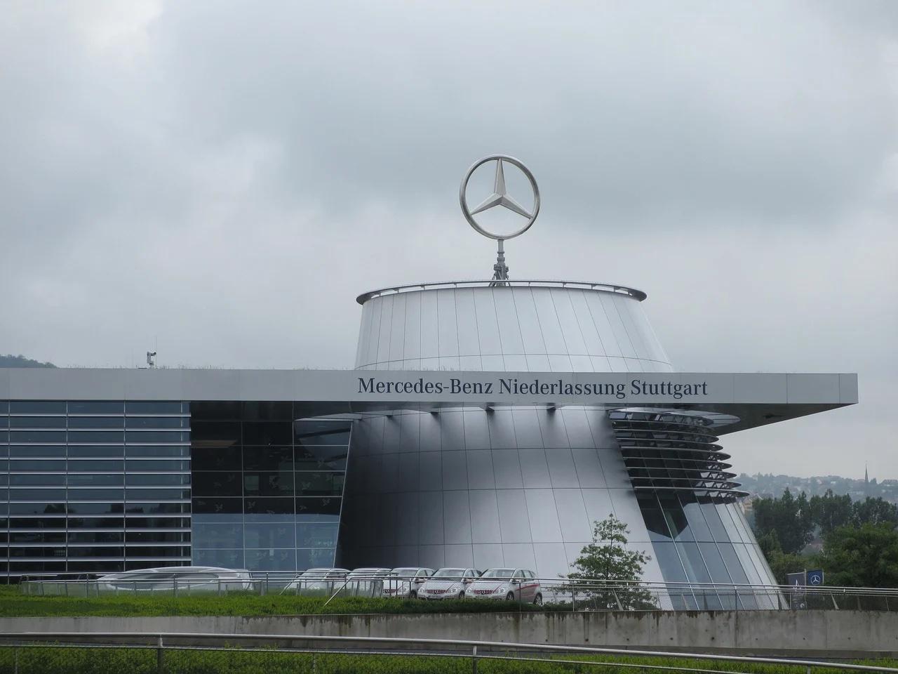 Sede Mercedes a Stoccarda