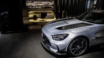 Centro consegne Mercedes-AMG