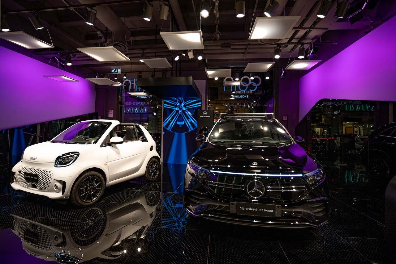 Mercedes EQ Experience Concept